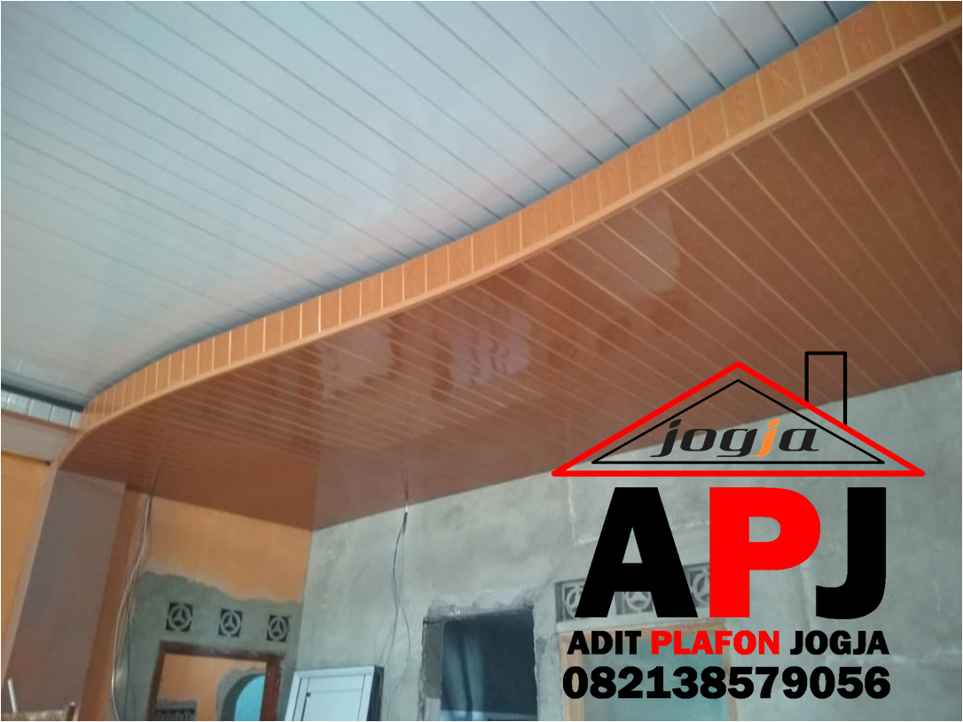 HARGA PASANG PLAFON PVC SHUNDA GYPSUM GRC DI BERBAH SLEMAN